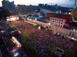 Francofolies de Montréal quartier des spectacles