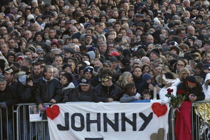 Johnny hommage de tout un peuple