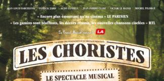 Le spectacle musical Les choristes de retour aux Folies Bergère