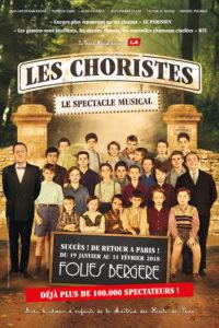 Les Choristes spectacle musicale aux Folies Bergère