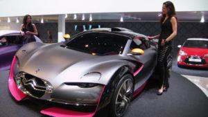 un des modèles 2018 de lexpo concept cars et design