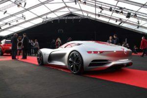 une des voitures design de lexpo concept cars 2018