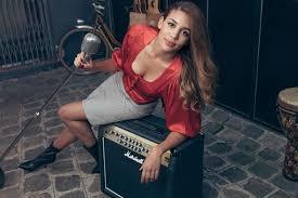 La chanteuse KImberose