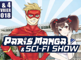 paris manga & sci fi show 2018