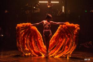 Cabaret decadent cirque electrique