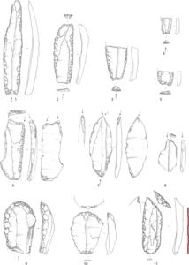 outils préhistoriques finistere bretagne