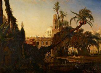 une des toiles de lexpo peintures des lointains
