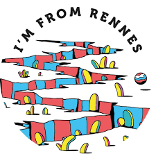 l'affiche du festival I'm from rennes 2018