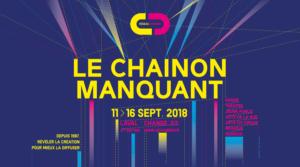 l'affiche du festival chainon manquant 2018