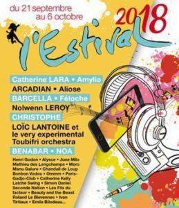 affiche 2018 de l'estival de saint-germain-en-laye