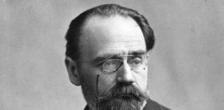 Emile Zola pour son roman une page d'amour