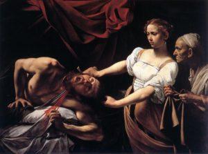 Judith décapitant Holopherne par caravage
