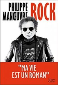 philippe manoeuvre pour son roman autobiographique rock