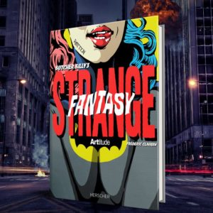 couverture de l'art book sur butcher billy strange fantasy
