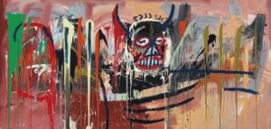 "tableau ""untitled"" de Basquiat"