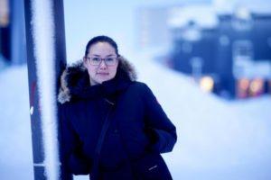 l'écrivaine groenlandaise Nikiak Korneliussen aux boréales
