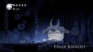 L'un des premiers boss trouvables dans le jeu Hollow Knight