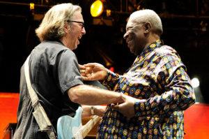 entre eric Clapton et b.B. king, une amitié de longue date