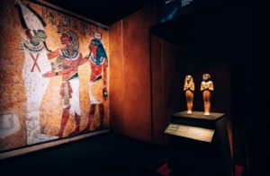 exposition toutankhamon le tresor du pharaon paris