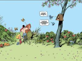 bande dessinée le retour à la terre