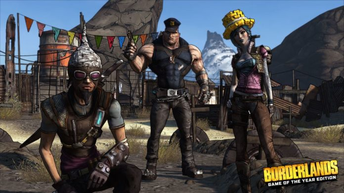 jeu video borderlands game of the year edition