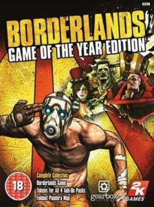 jeu video boderlands game of the year edition