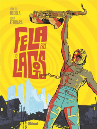 couverture bd fela back to lagos
