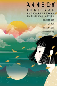 affiche festival du film d'animation d'annecy