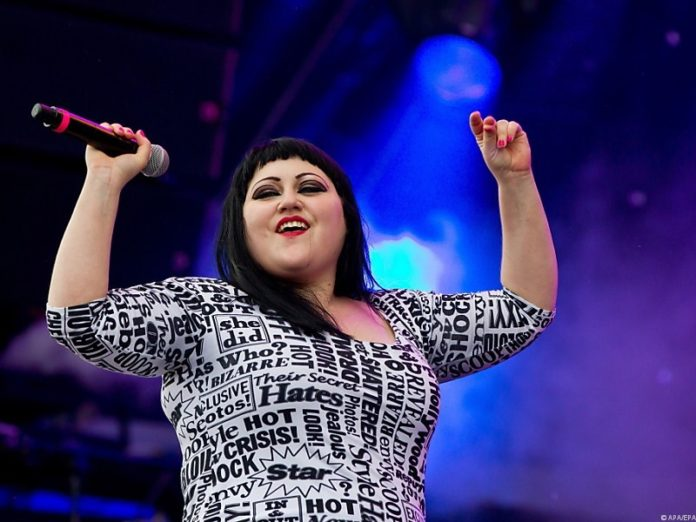beth ditto chanteuse du groupe gossip