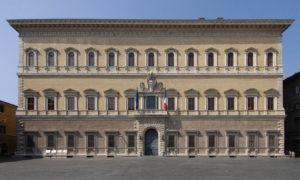 rome palais farnese