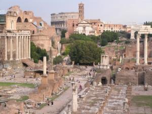 rome forum romain le capitole