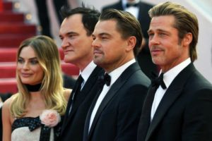 film once upon a time in hollywood presentation festival de cannes 2019