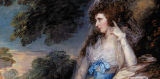 exposition l'age d'or de la peinture anglaise au musee du luxembourg