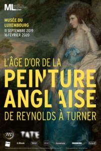 l'age d'or de la peinture anglaise au musee du luxembourg paris