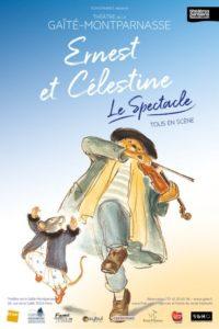 Ernest et celestine affiche du spectacle musical