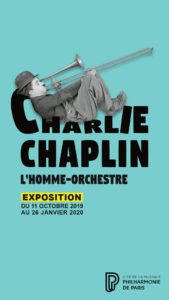 affiche exposition charlie chaplin