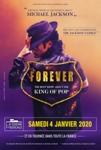 affiche forever schow hommage a michael jackson