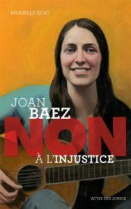 livre joan baez non a l'injustice