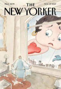 """Betty Boop à la une de le """"une """" du New Yorker"""