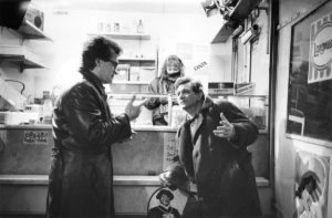 peter Falk avec Wim Wenders