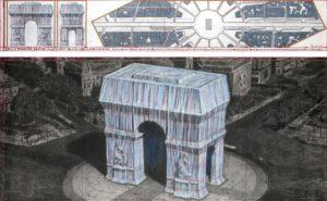 arc de triomphe empaquete christo