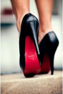 christian louboutin, escarpin semelle rouge