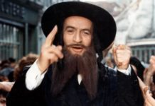Louis de funes dans les aventures de rabbi jacob