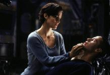 matrix avec Carrie-Ann Moss et Keenu Reeves