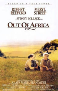 out of africa affiche
