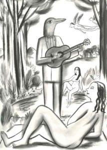 dessins de nuit de charles berberian