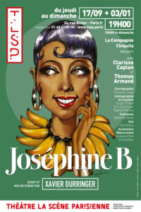 affiche spectacle josephine b