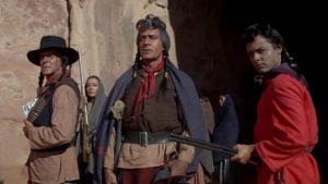 """Une des scènes des """"Cheyennes"""" de John Ford"""