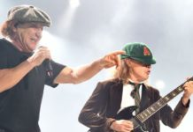 ac/dc brian johnson et angus young