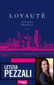 couverture roman loyaute de letizia pezzali